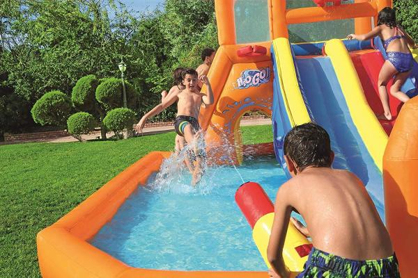 Bestway H2o Go Tsunami Inflatable Bouncy Castle 16ft Water Park -16082