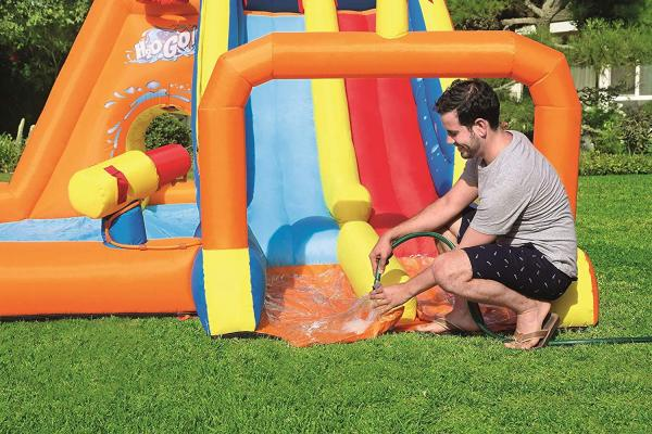 Bestway H2o Go Tsunami Inflatable Bouncy Castle 16ft Water Park -16077