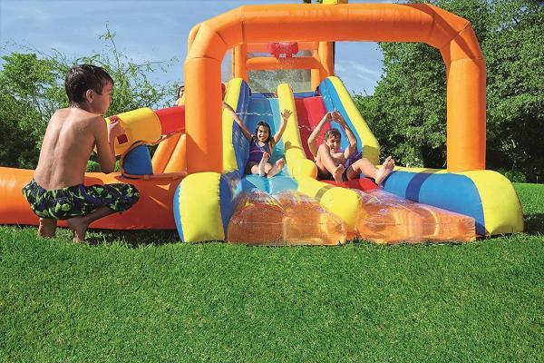 Bestway H2o Go Tsunami Inflatable Bouncy Castle 16ft Water Park -16081