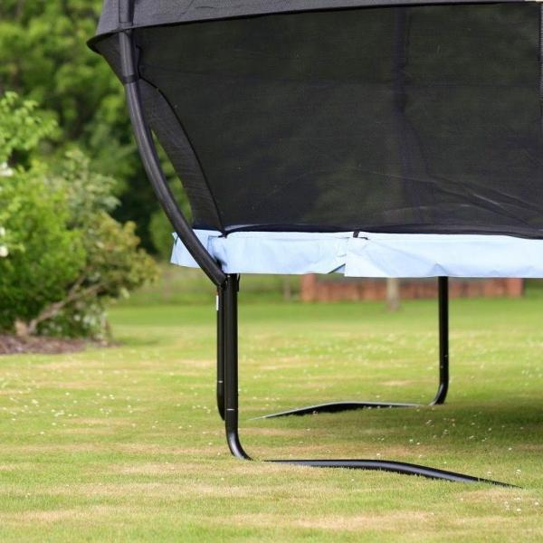 Rebo Gravity Pod 14ft Trampoline with Halo III Safety Enclosure-16225