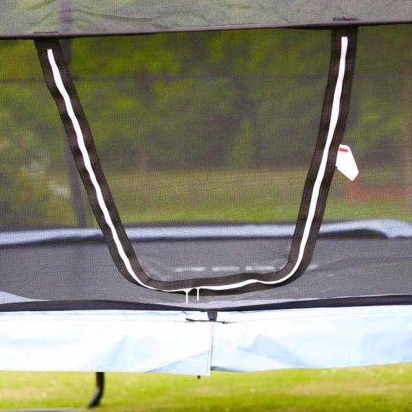 Rebo Gravity Pod 14ft Trampoline with Halo III Safety Enclosure-16224