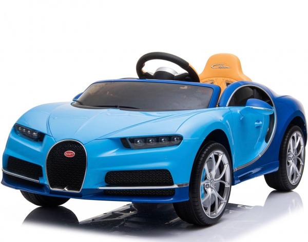 Licensed Bugatti Chiron 12V Ride On Electric / Children's Battery Ride on Car - Blue-0