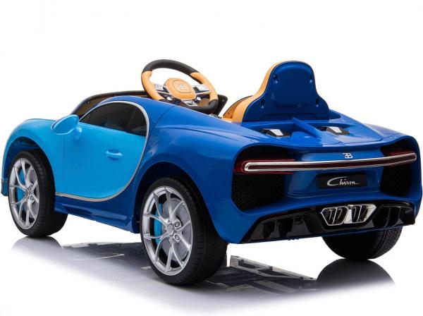 Licensed Bugatti Chiron 12V Ride On Electric / Children's Battery Ride on Car - Blue-16316