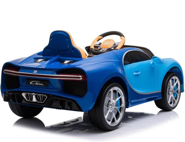 Licensed Bugatti Chiron 12V Ride On Electric / Children's Battery Ride on Car - Blue-16317