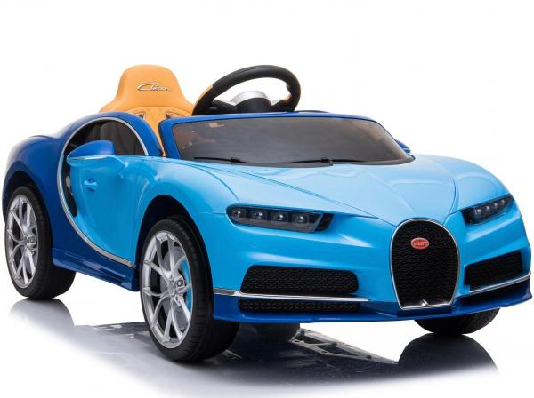 Licensed Bugatti Chiron 12V Ride On Electric / Children's Battery Ride on Car - Blue-16318