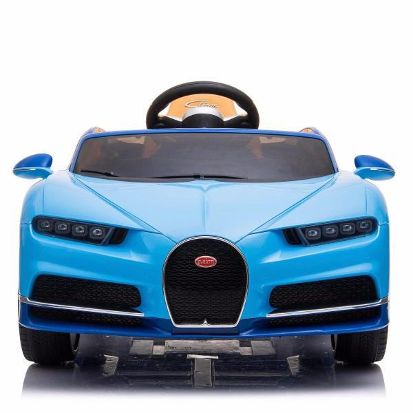 Licensed Bugatti Chiron 12V Ride On Electric / Children's Battery Ride on Car - Blue-16323
