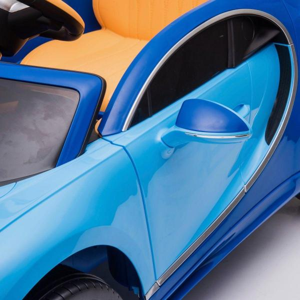 Licensed Bugatti Chiron 12V Ride On Electric / Children's Battery Ride on Car - Blue-16322