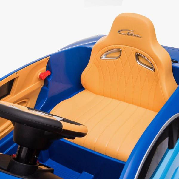 Licensed Bugatti Chiron 12V Ride On Electric / Children's Battery Ride on Car - Blue-16314