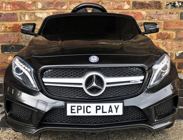 Licensed Mercedes Benz AMG GLA 12V Battery Electric Ride on Car with Remote Control - Black-16612