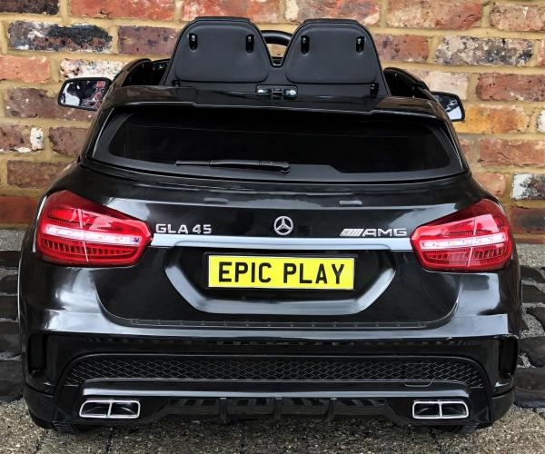 Licensed Mercedes Benz AMG GLA 12V Battery Electric Ride on Car with Remote Control - Black-16611