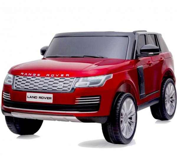 Licensed 24v Range Rover Vogue HSE Sport 4WD 2 Seater Ride On Jeep - Red Front