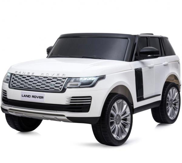 Licensed 24v Range Rover Vogue HSE Sport 4WD 2 Seater Ride On Jeep - White Front