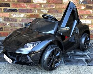 Lamborghini Aventador style 12v Ride on Car - BlackLamborghini Aventador style 12v Ride on Car - Black