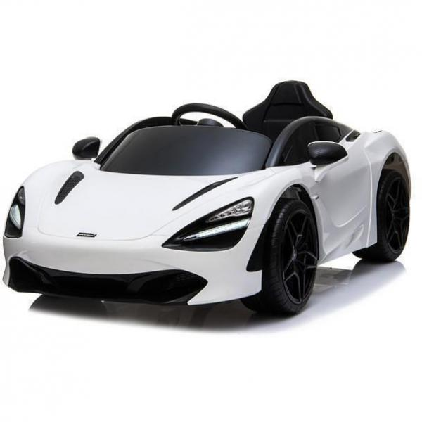 Kids Licensed McLaren 720S Spider 12V Battery Powered Kids Electric Ride On Car Solica White-0