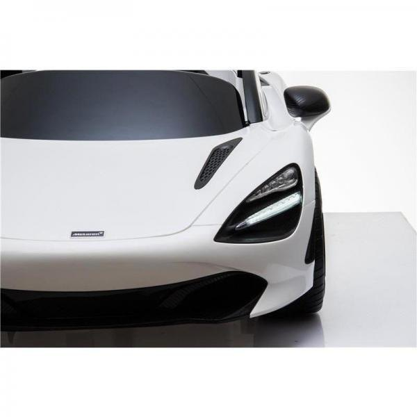 Kids Licensed McLaren 720S Spider 12V Battery Powered Kids Electric Ride On Car Solica White-16742
