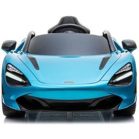 Kids Licensed McLaren 720S Spider 12V Battery Powered Kids Electric Ride On Car Metallic Belize Blue-16729