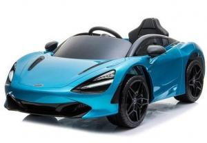 Kids Licensed McLaren 720S Spider 12V Battery Powered Kids Electric Ride On Car Metallic Belize Blue-0