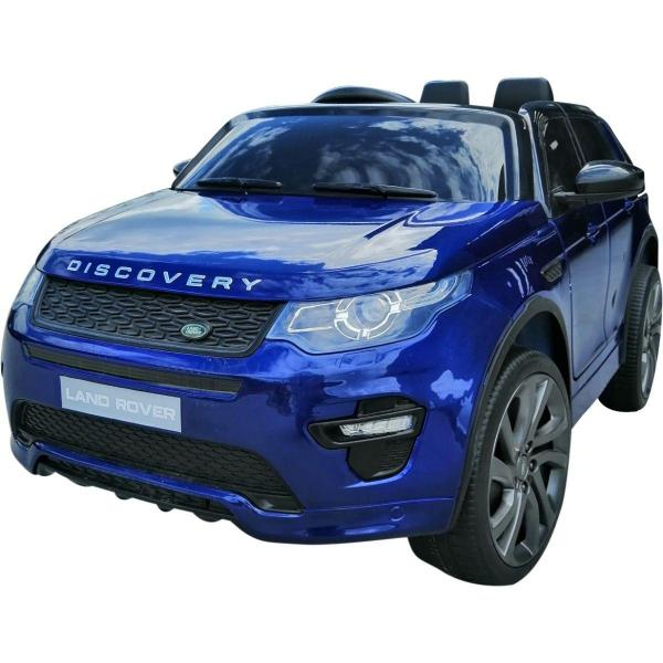 Licensed Kids Land Rover Range Rover Discovery HSE Sport 12v Electric Ride on Car - Blue-16681