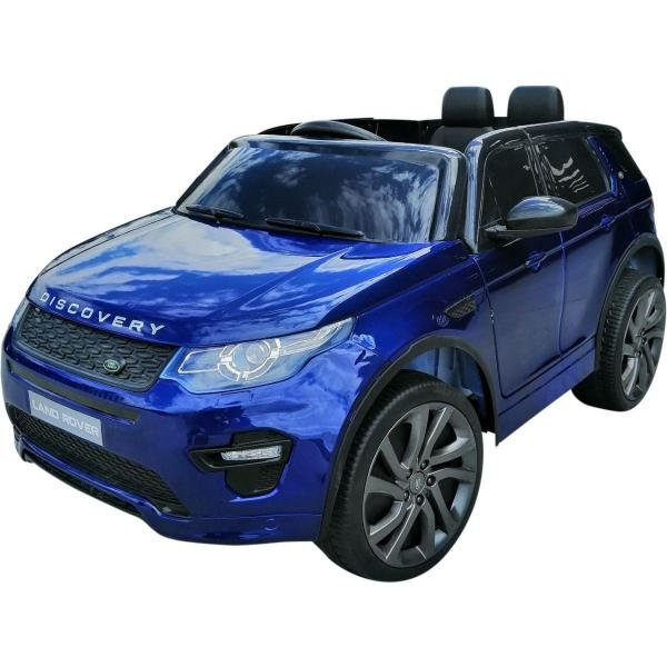 Licensed Kids Land Rover Range Rover Discovery HSE Sport 12v Electric Ride on Car - Blue-0