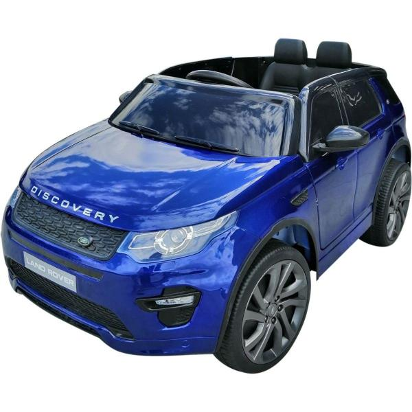 Licensed Kids Land Rover Range Rover Discovery HSE Sport 12v Electric Ride on Car - Blue-16677