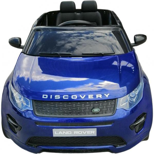 Licensed Kids Land Rover Range Rover Discovery HSE Sport 12v Electric Ride on Car - Blue-16675