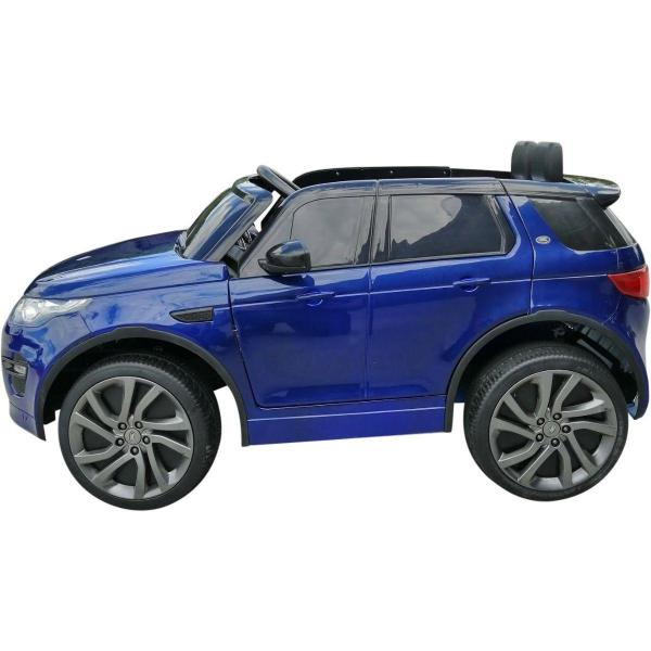 Licensed Kids Land Rover Range Rover Discovery HSE Sport 12v Electric Ride on Car - Blue-16678