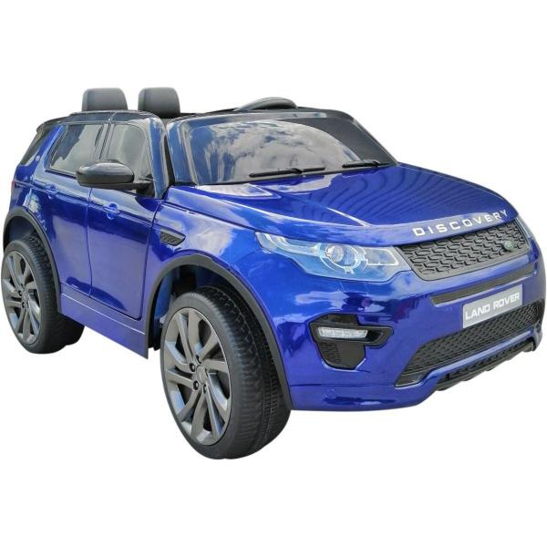 Licensed Kids Land Rover Range Rover Discovery HSE Sport 12v Electric Ride on Car - Blue-16679