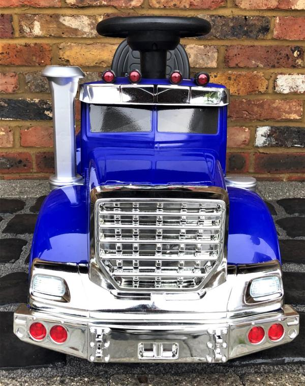 The Big Rig 6v Ride On Lorry Artic Truck - Blue-17191