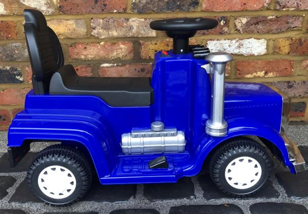 The Big Rig 6v Ride On Lorry Artic Truck - Blue-17185