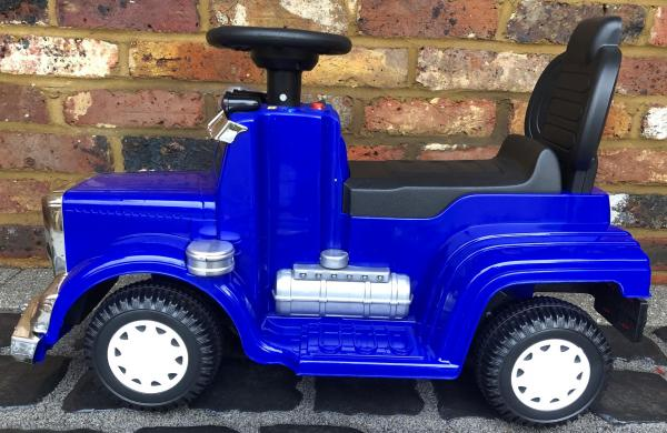 The Big Rig 6v Ride On Lorry Artic Truck - Blue-17188