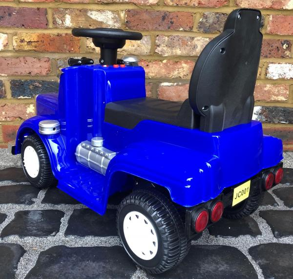 The Big Rig 6v Ride On Lorry Artic Truck - Blue-17184