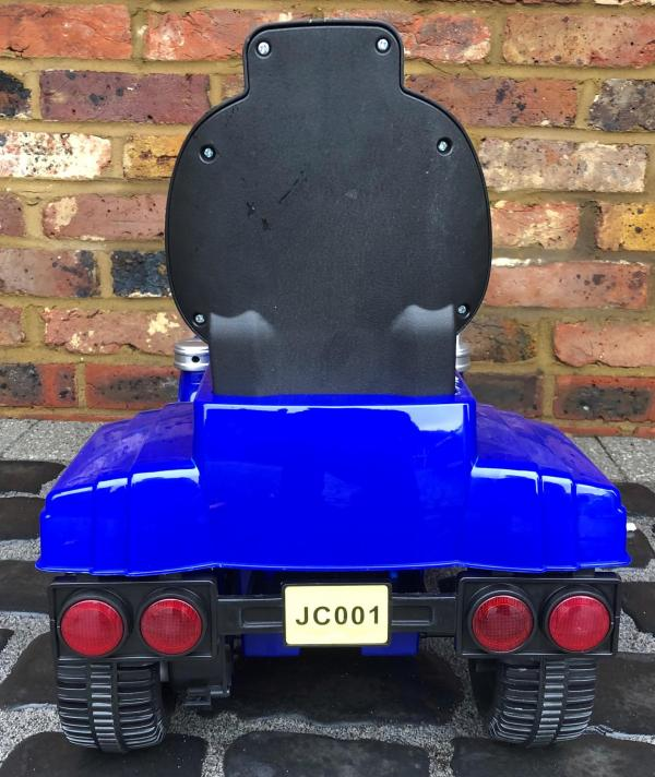 The Big Rig 6v Ride On Lorry Artic Truck - Blue-17192