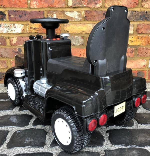 The Big Rig 6v Ride On Lorry Artic Truck - Black-17179