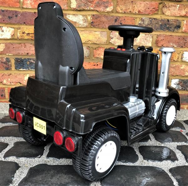 The Big Rig 6v Ride On Lorry Artic Truck - Black-17181