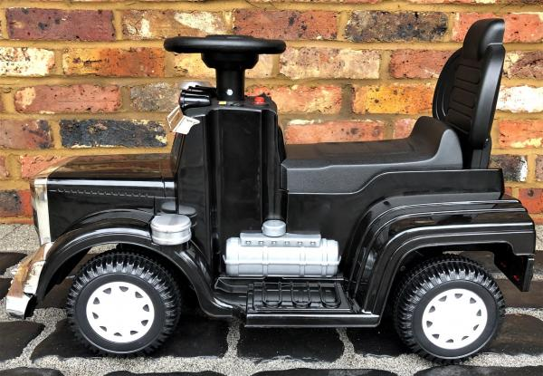 The Big Rig 6v Ride On Lorry Artic Truck - Black-17178