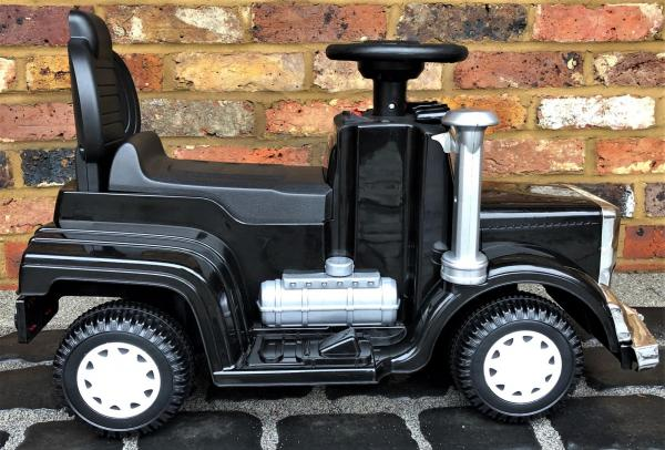The Big Rig 6v Ride On Lorry Artic Truck - Black-17177