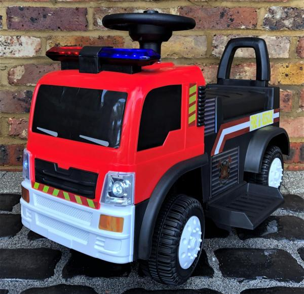 The Big Red 6v Ride On Fire Engine -0