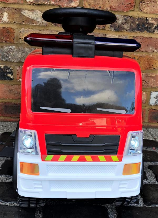 The Big Red 6v Ride On Fire Engine -17077