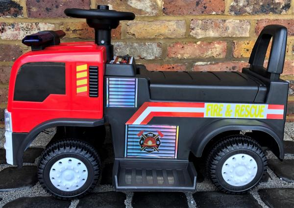 The Big Red 6v Ride On Fire Engine -17082