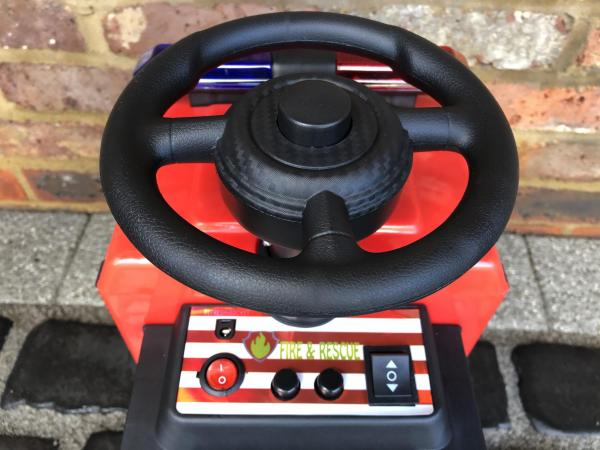 The Big Red 6v Ride On Fire Engine -17078