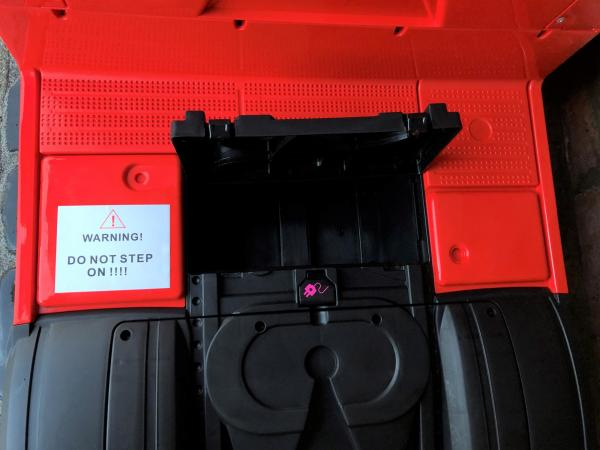Licensed Mercedes Benz Actros 12v Ride On Lorry Artic Truck - Red-17342