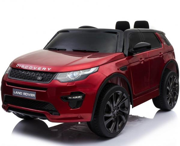 Licensed Kids Land Rover Range Rover Discovery HSE Sport 12v Electric Ride on Car - Metallic Red-0