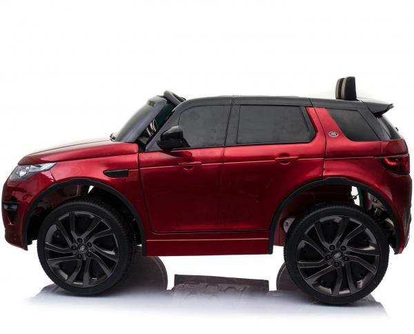 Licensed Kids Land Rover Range Rover Discovery HSE Sport 12v Electric Ride on Car - Metallic Red-16695