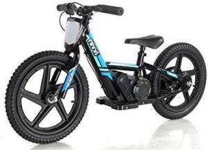 "Revvi 16"" Kids Electric / Lithium Battery Dirt Bike - 24v Motorbike Blue-0"