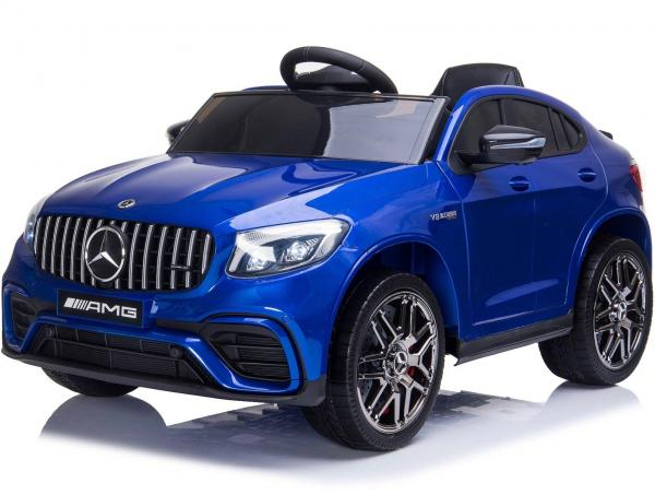 Licensed Mercedes Benz AMG GLC 63S 12V Battery Electric Ride on Car Blue-0