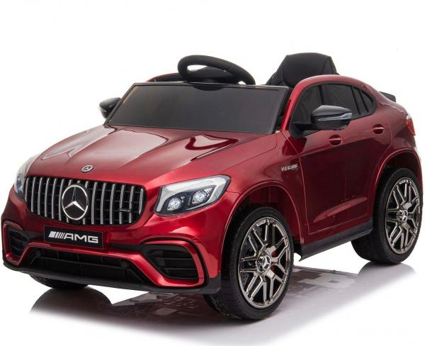 Licensed Mercedes Benz AMG GLC 63S 12V Battery Electric Ride on Car Red-0