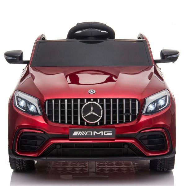 Licensed Mercedes Benz AMG GLC 63S 12V Battery Electric Ride on Car Red-17320
