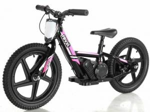 "Revvi 16"" Kids Electric / Lithium Battery Dirt Bike - 24v Motorbike Pink-0"