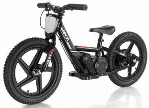 "Revvi 16"" Kids Electric / Lithium Battery Dirt Bike - 24v Motorbike Black-0"