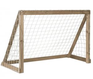 Plum football goal